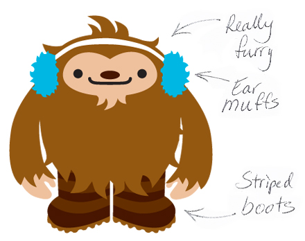 Quatchi Illustration